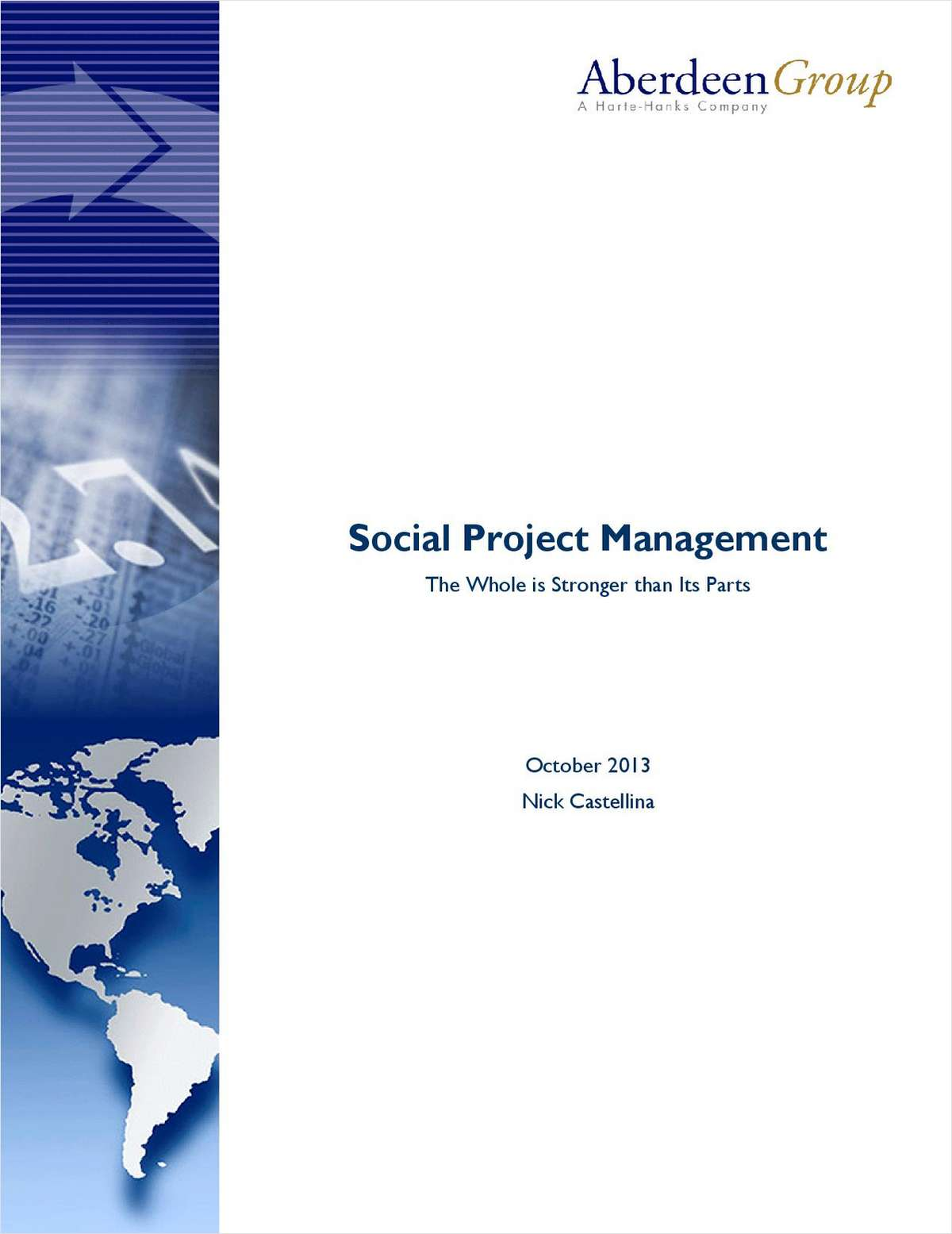 Social Project Management: The Whole is Stronger Than Its Parts