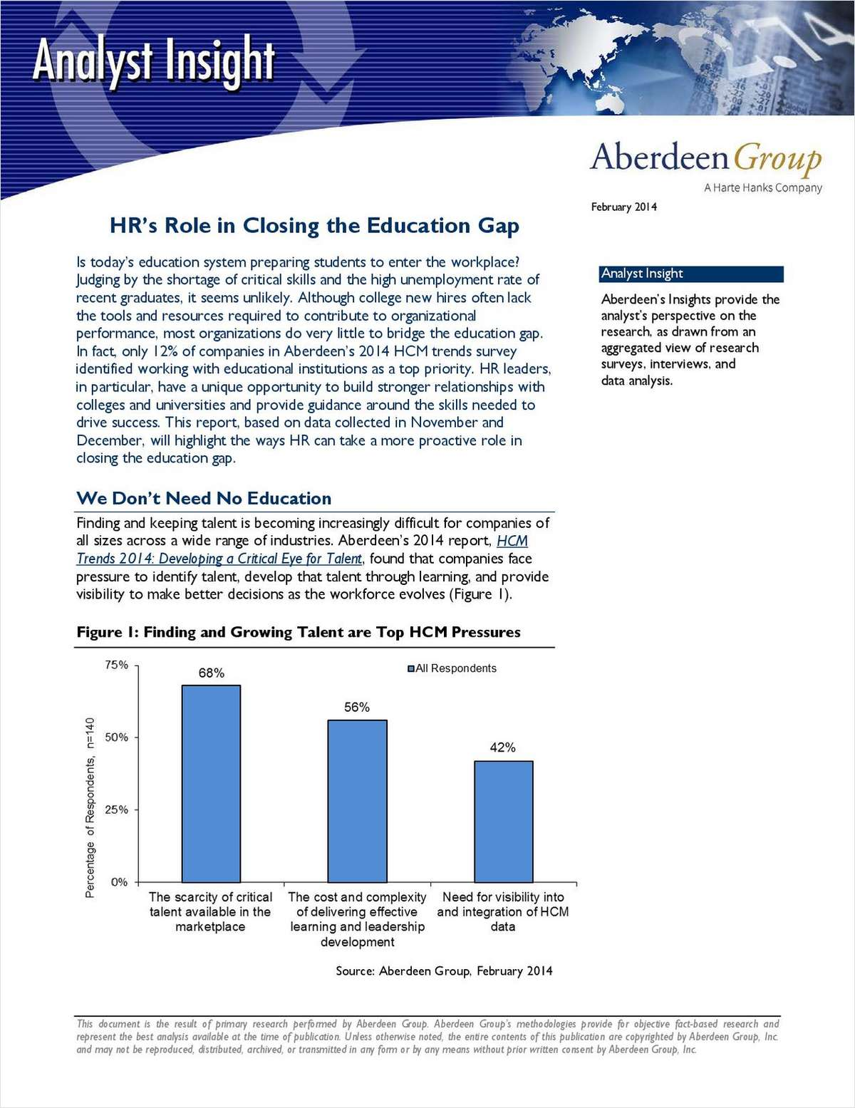 HR's Role in Closing the Education Gap