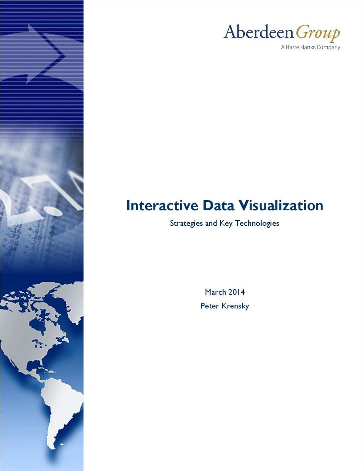 Interactive Data Visualization: Strategies and Key Technologies