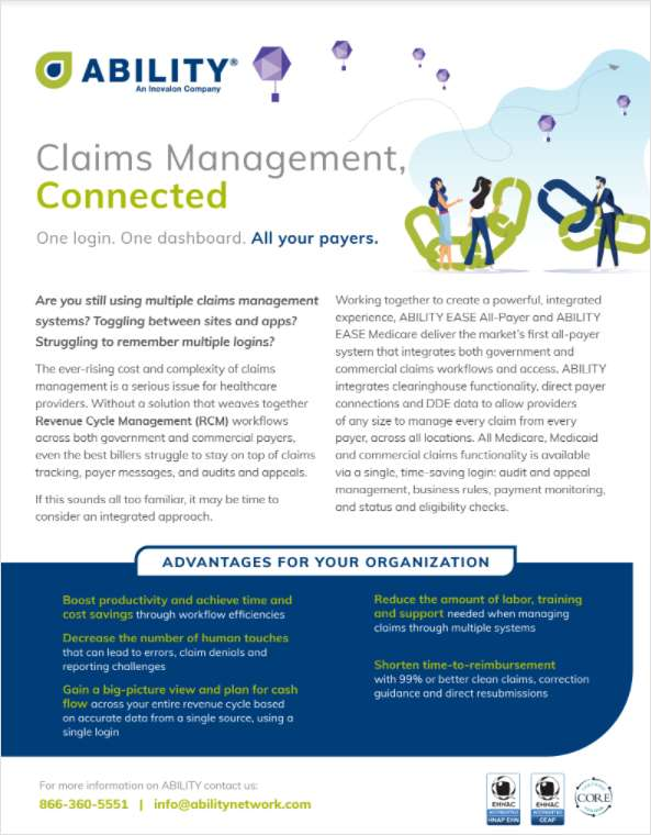 Claims Management: How to Connect All Your Payers