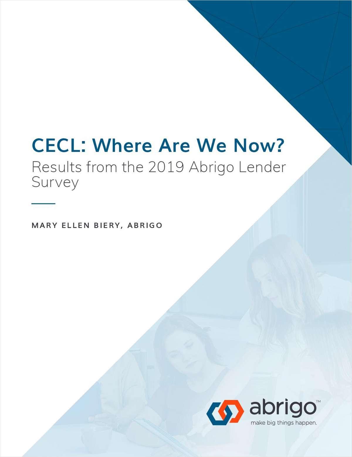 CECL Report: Where Credit Unions Are in Preparation