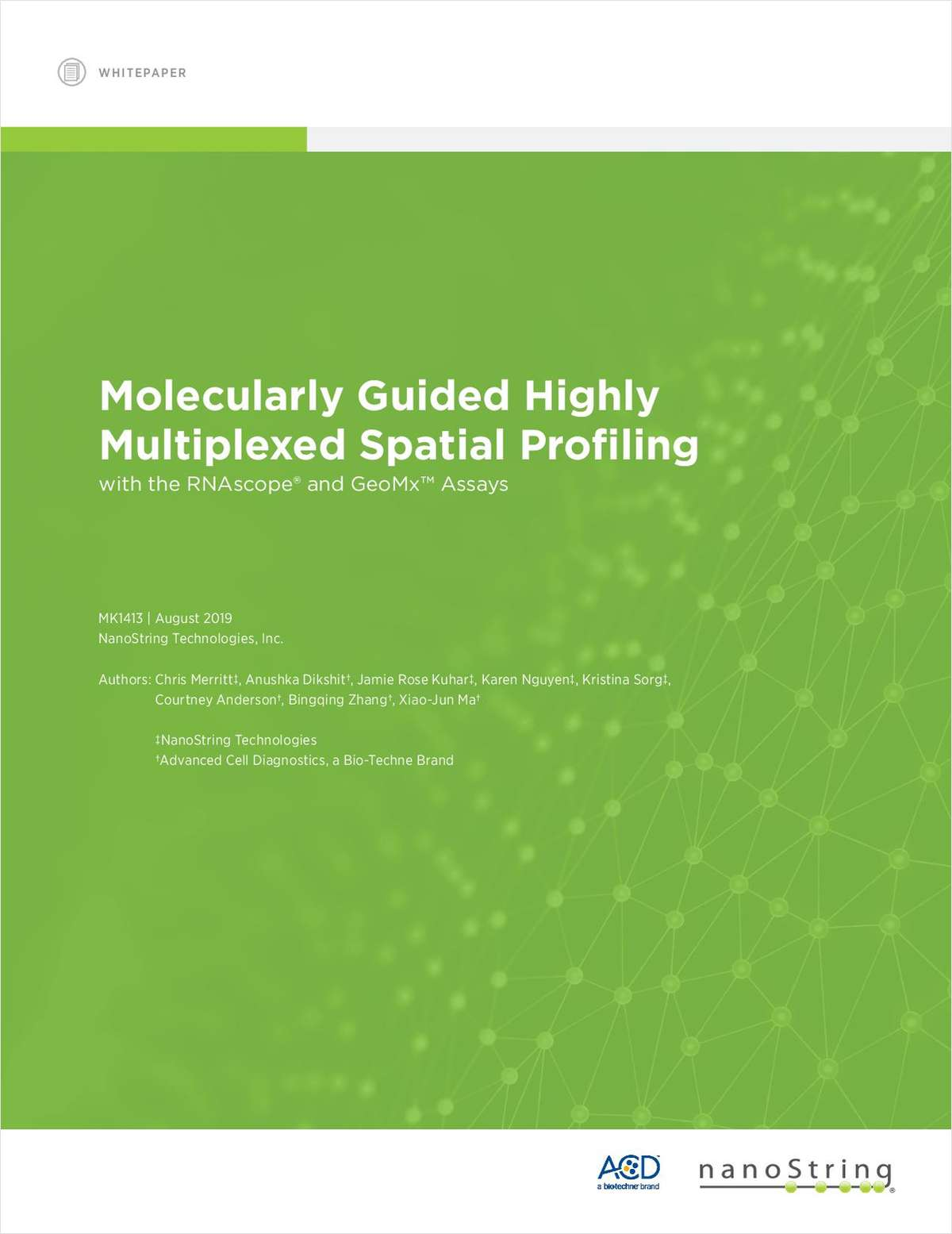 Molecularly Guided Highly Multiplexed Spatial Profiling