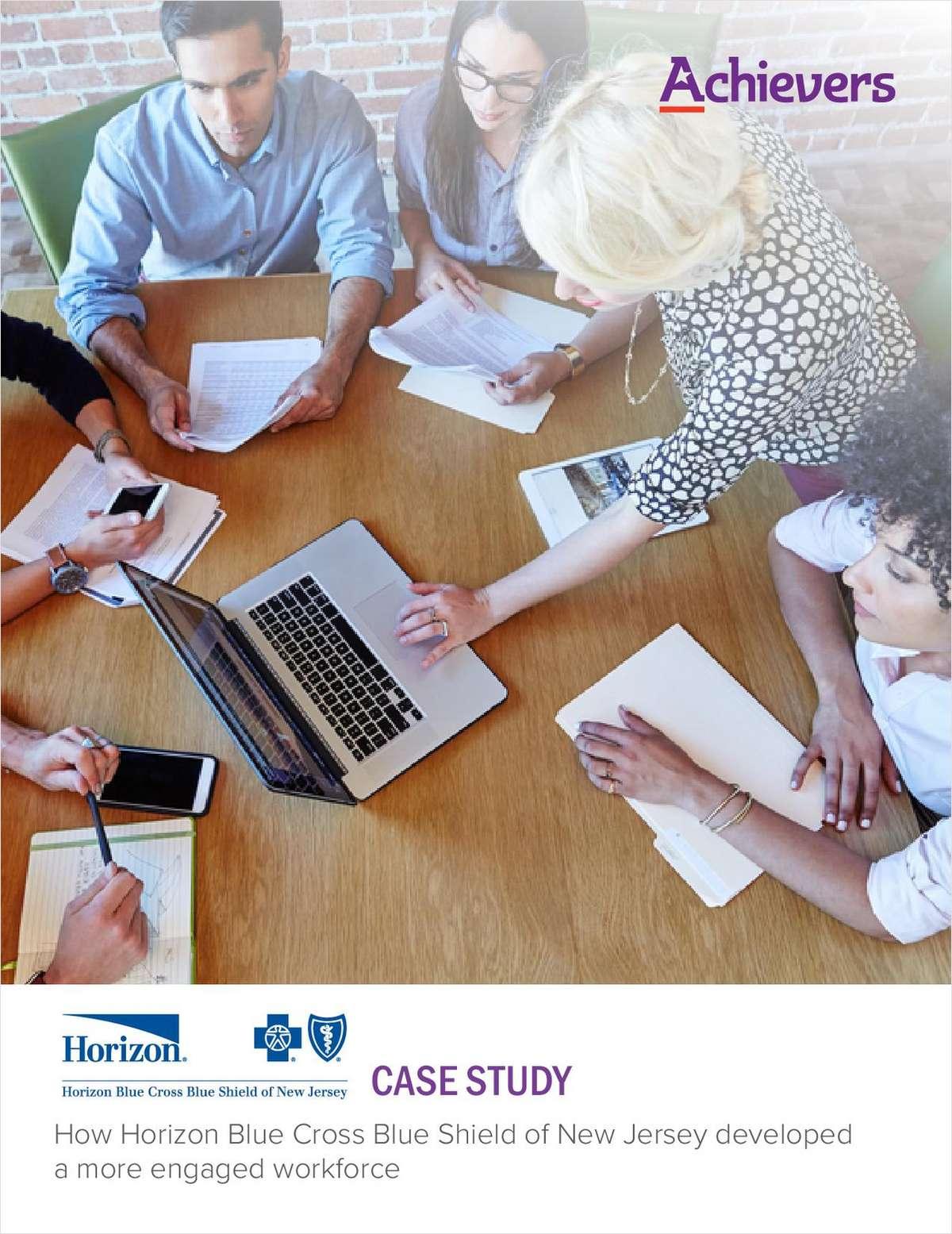 Horizon Blue Cross Blue Shield Customer Success Story