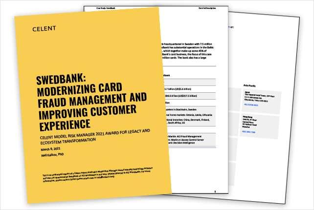 Swedbank: Modernizing Card Fraud Management and Improving Customer Experience