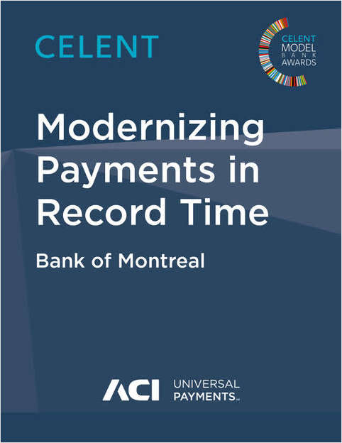 Bank of Montreal: Modernizing Payments in Record Time