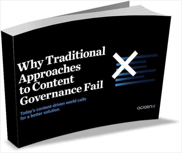 Why Traditional Approaches to Content Governance Fail