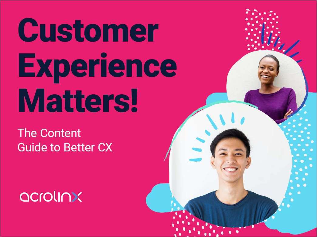Content Guide to Better Customer Experience
