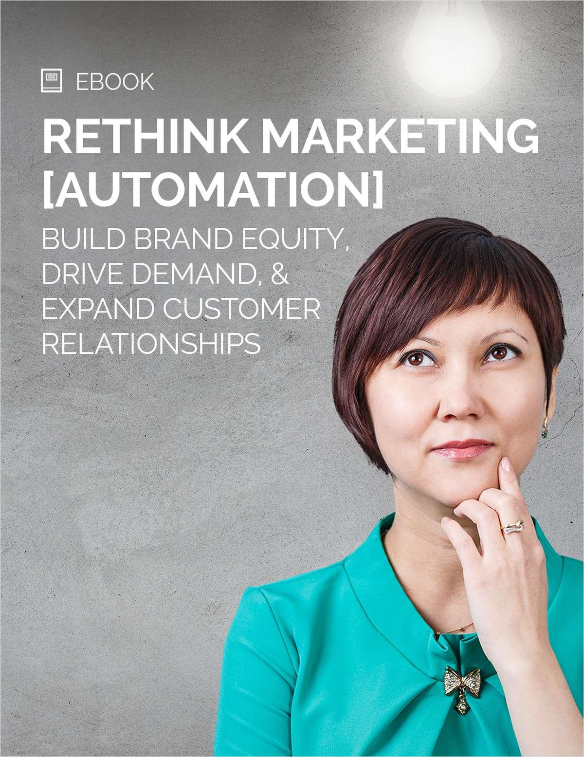 Rethink Marketing [Automation]