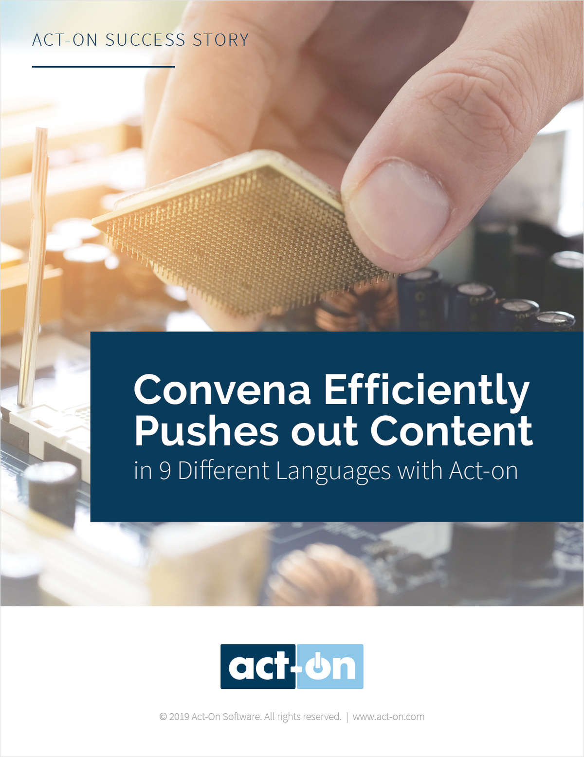 Convena Delivers Content in 9 Different Languages with Act-On