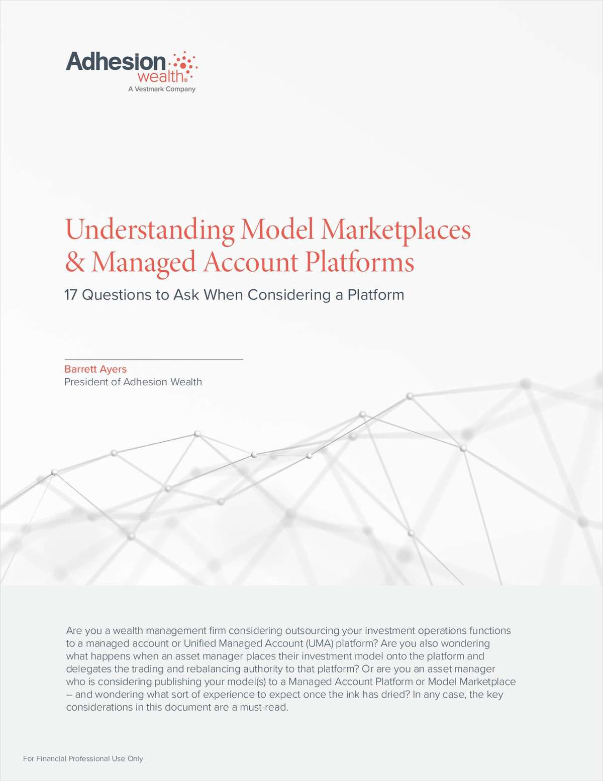 Understanding Model Marketplaces & Managed Account Platforms: 17 Questions to Ask When Considering a Platform