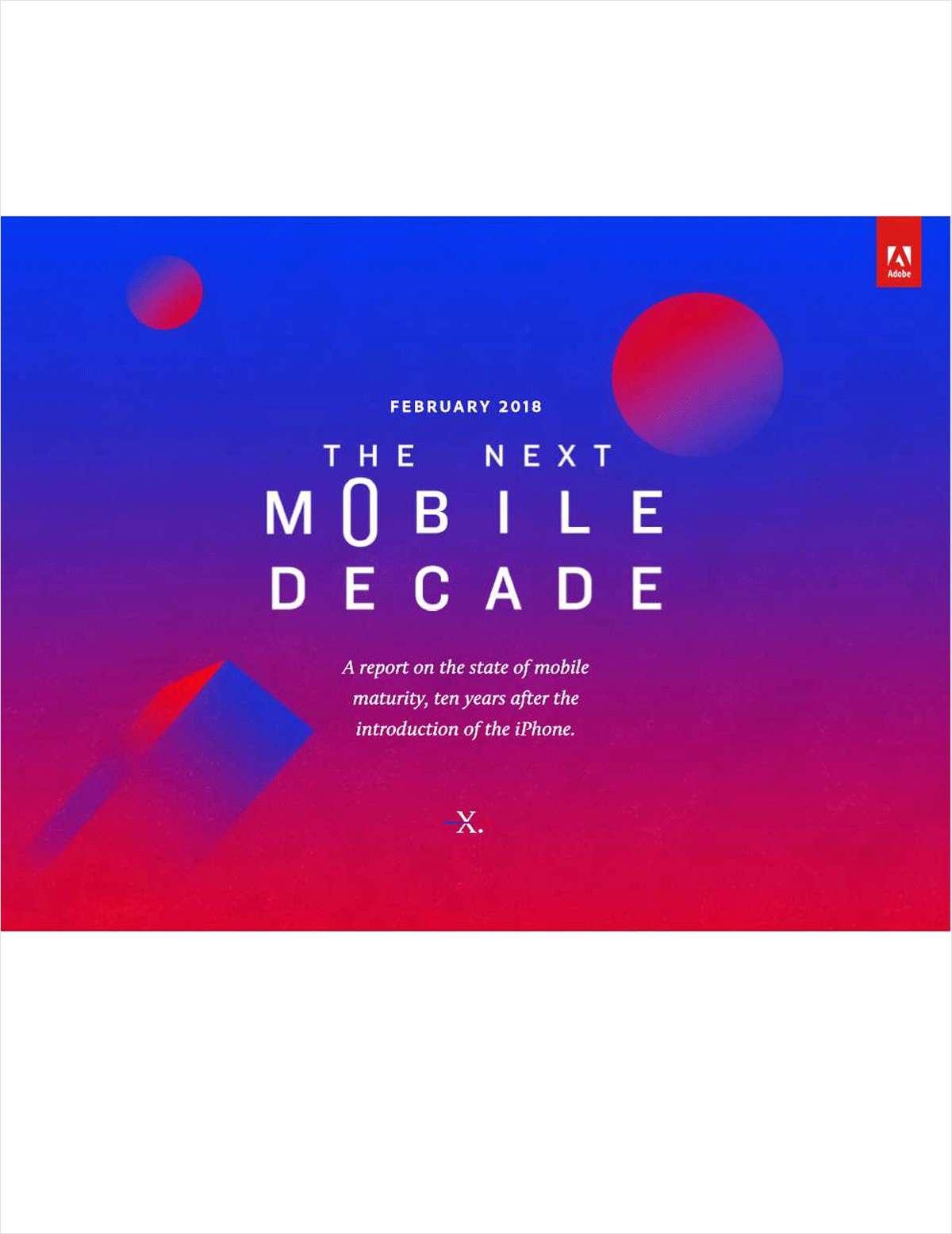 The Next Mobile Decade