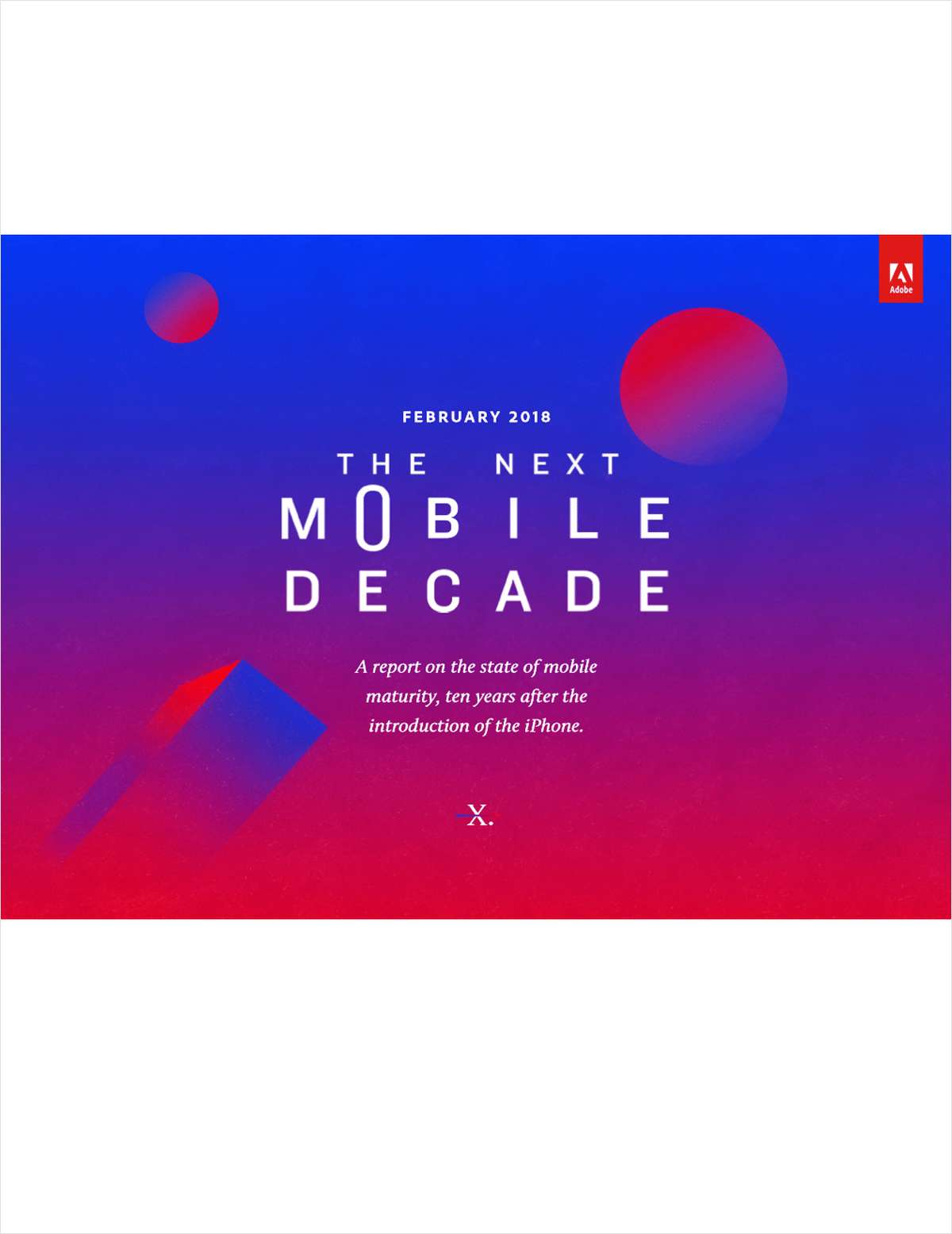 Adobe Mobile Maturity Study 2018