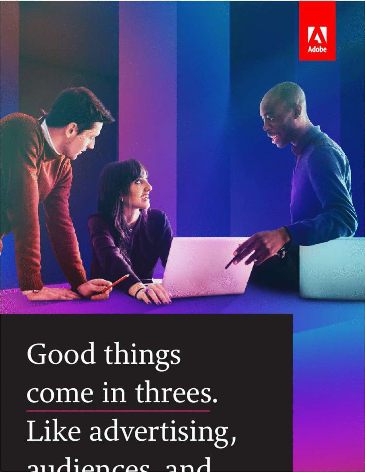 Good Things Come in Threes: Like Advertising, Audiences, and Analytics