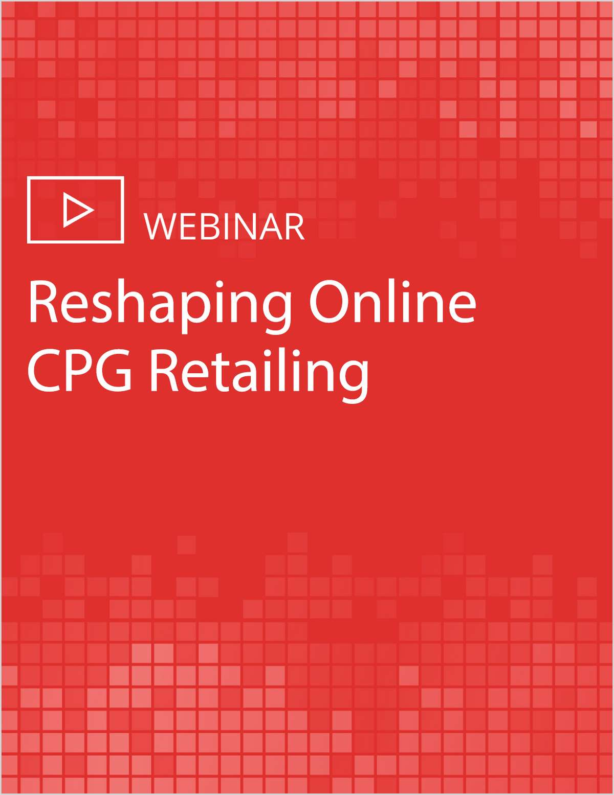 Reshaping Online CPG Retailing