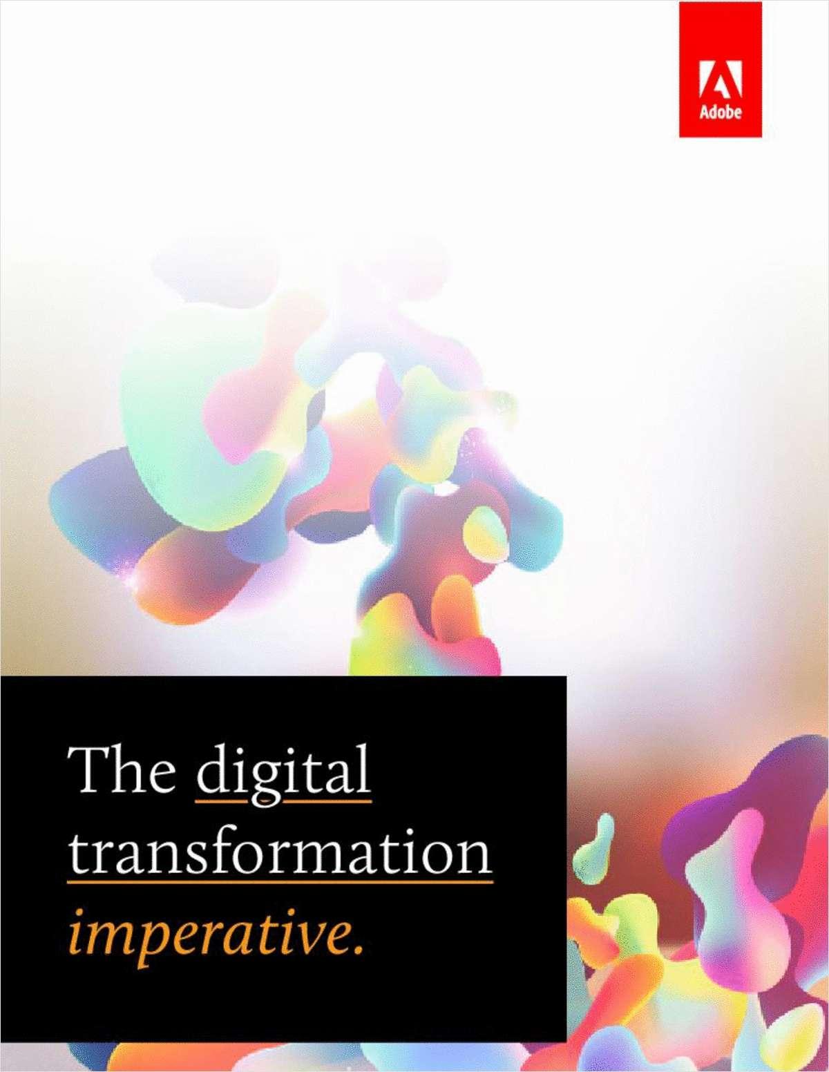 The Digital Transformation Imperative