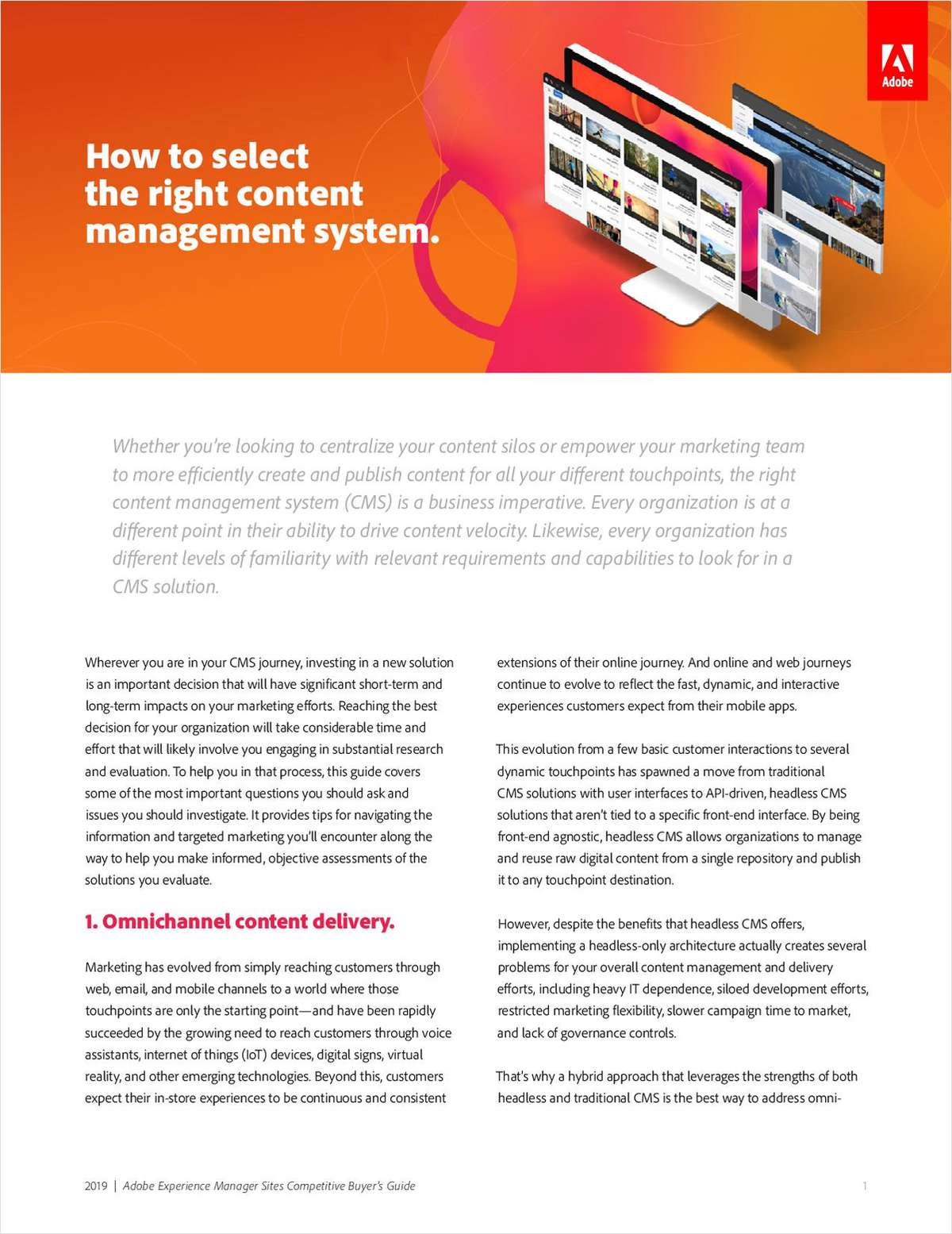 How to Select the Right Content Management System