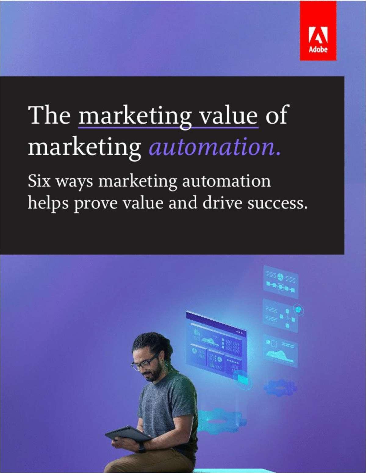 The Marketing Value of Marketing Automation