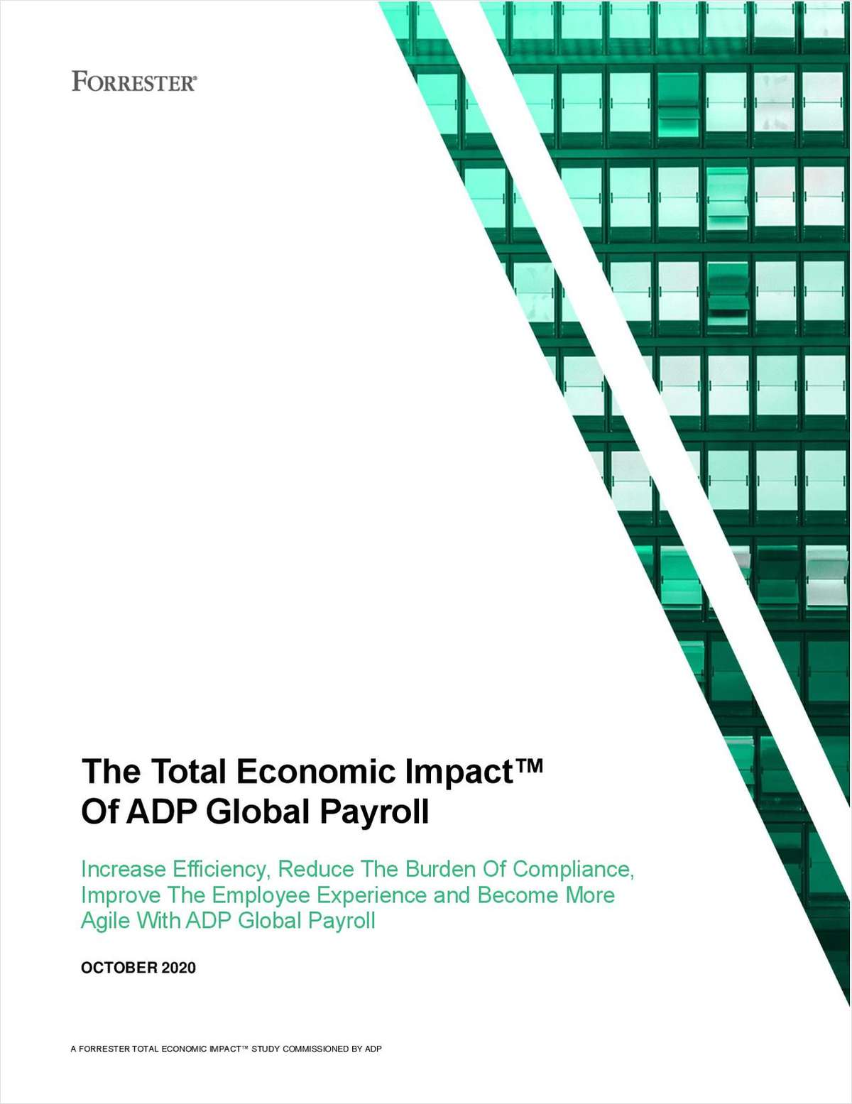 The Total Economic Impact™ Of ADP Global Payroll