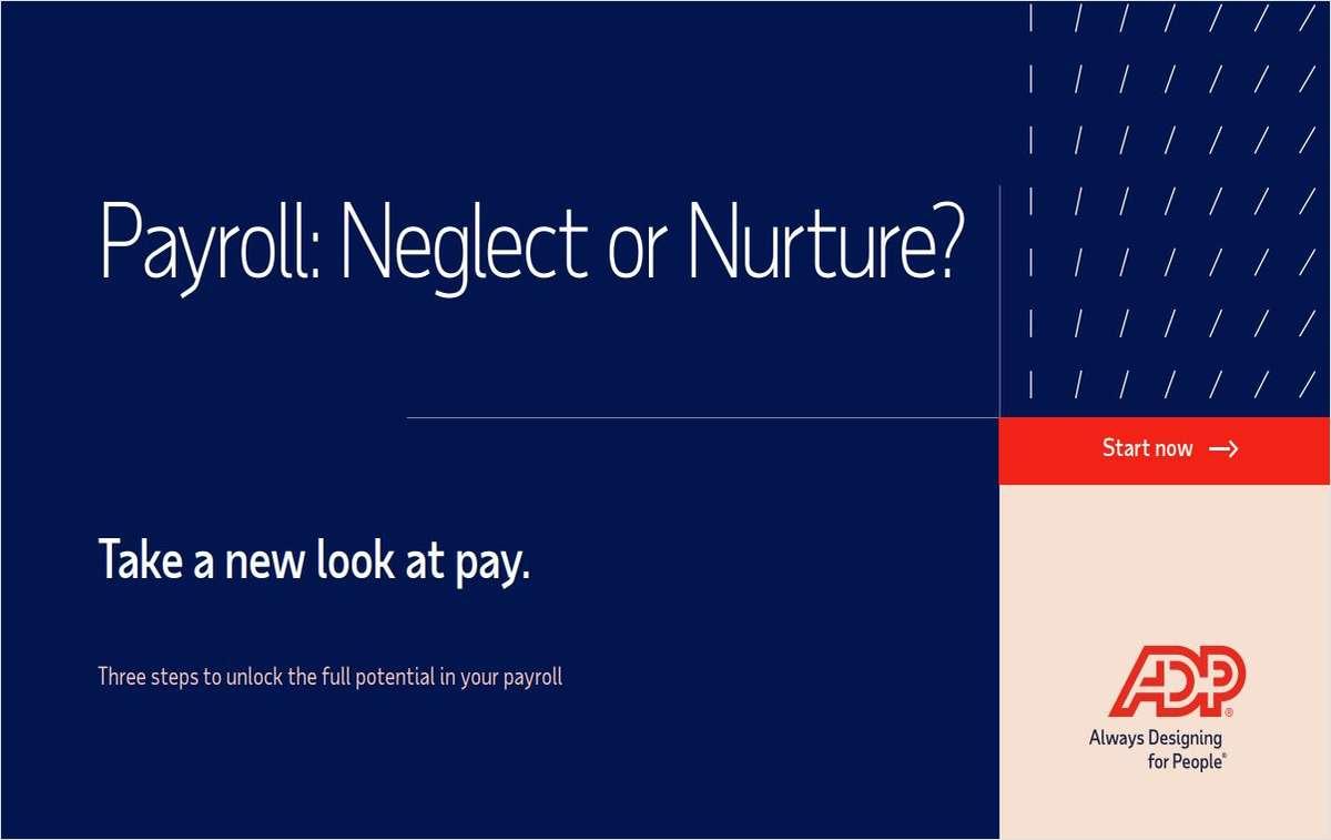 Payroll: Neglect or Nurture?