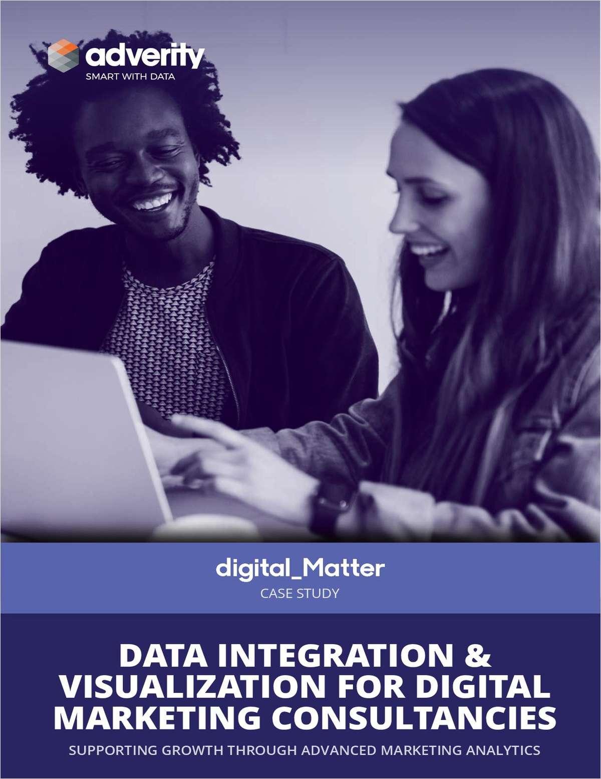Digital Matter Case Study: Data Integration & Visualization For Digital Marketing Consultancies