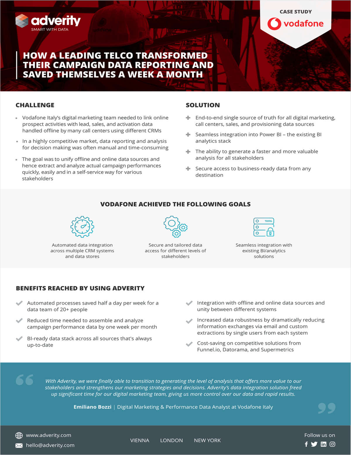 Vodafone Italy Case Study