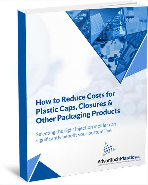 How to Reduce Costs for Plastic Caps, Closures and Other Packaging Products