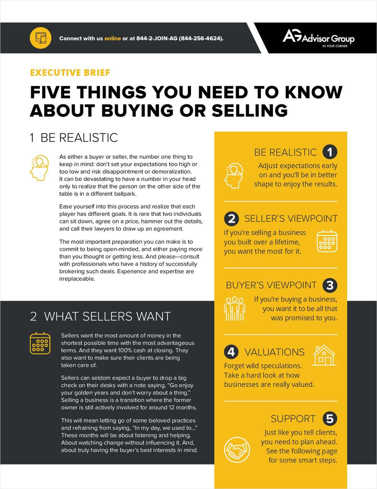 Five Things You Need to Know About Buying or Selling