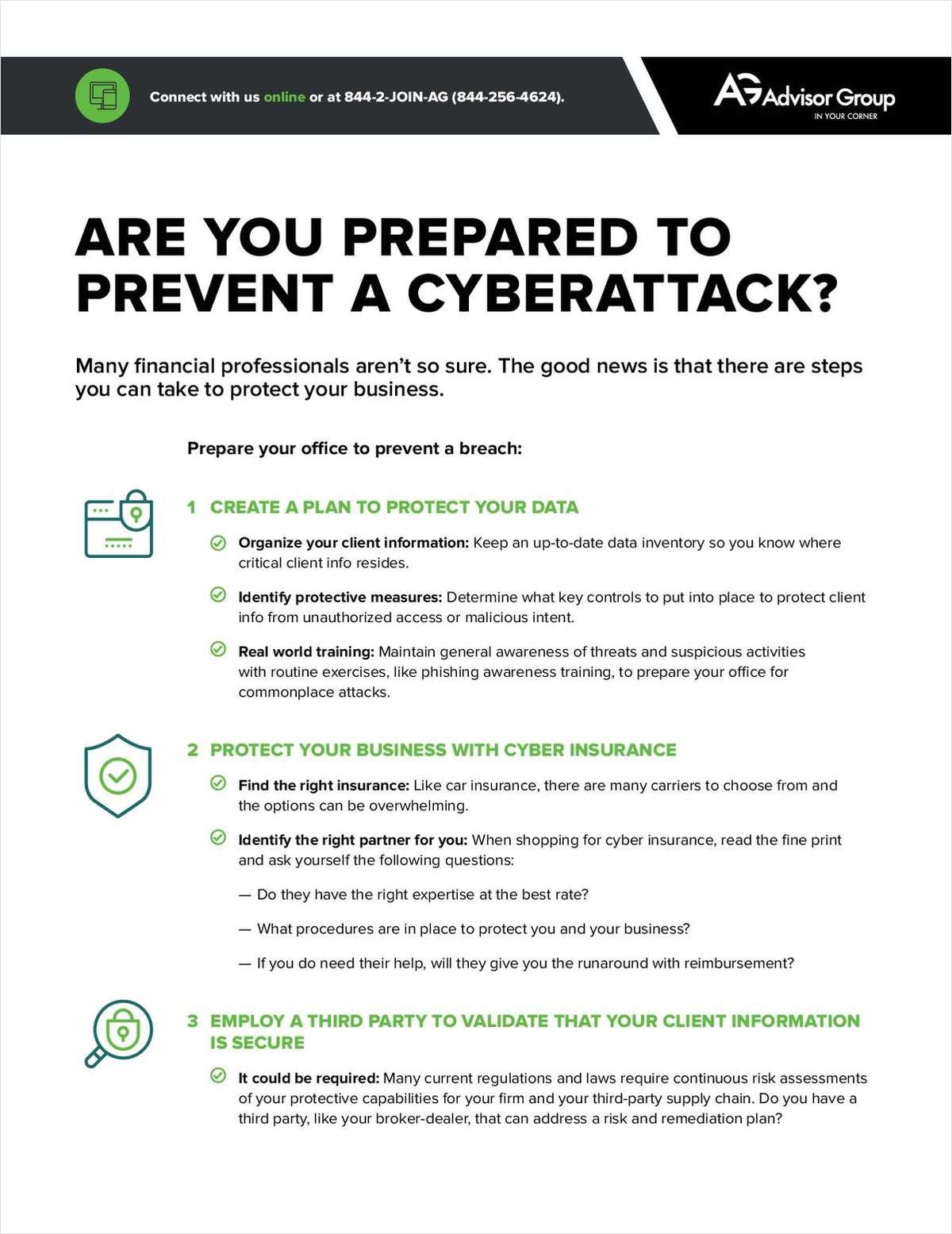 Are You Prepared to Prevent a Cyberattack?