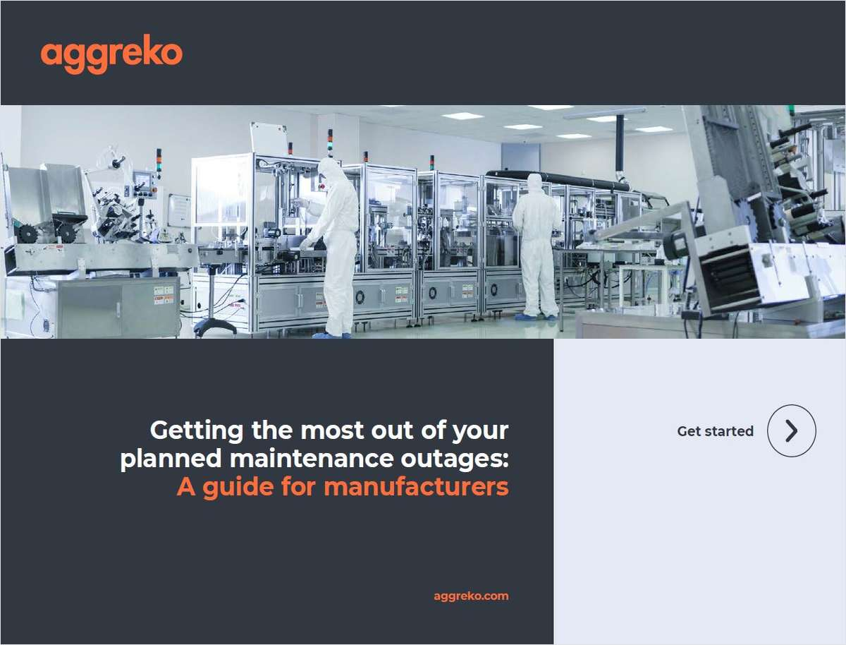 Optimizing Planned Maintenance Outages in Manufacturing