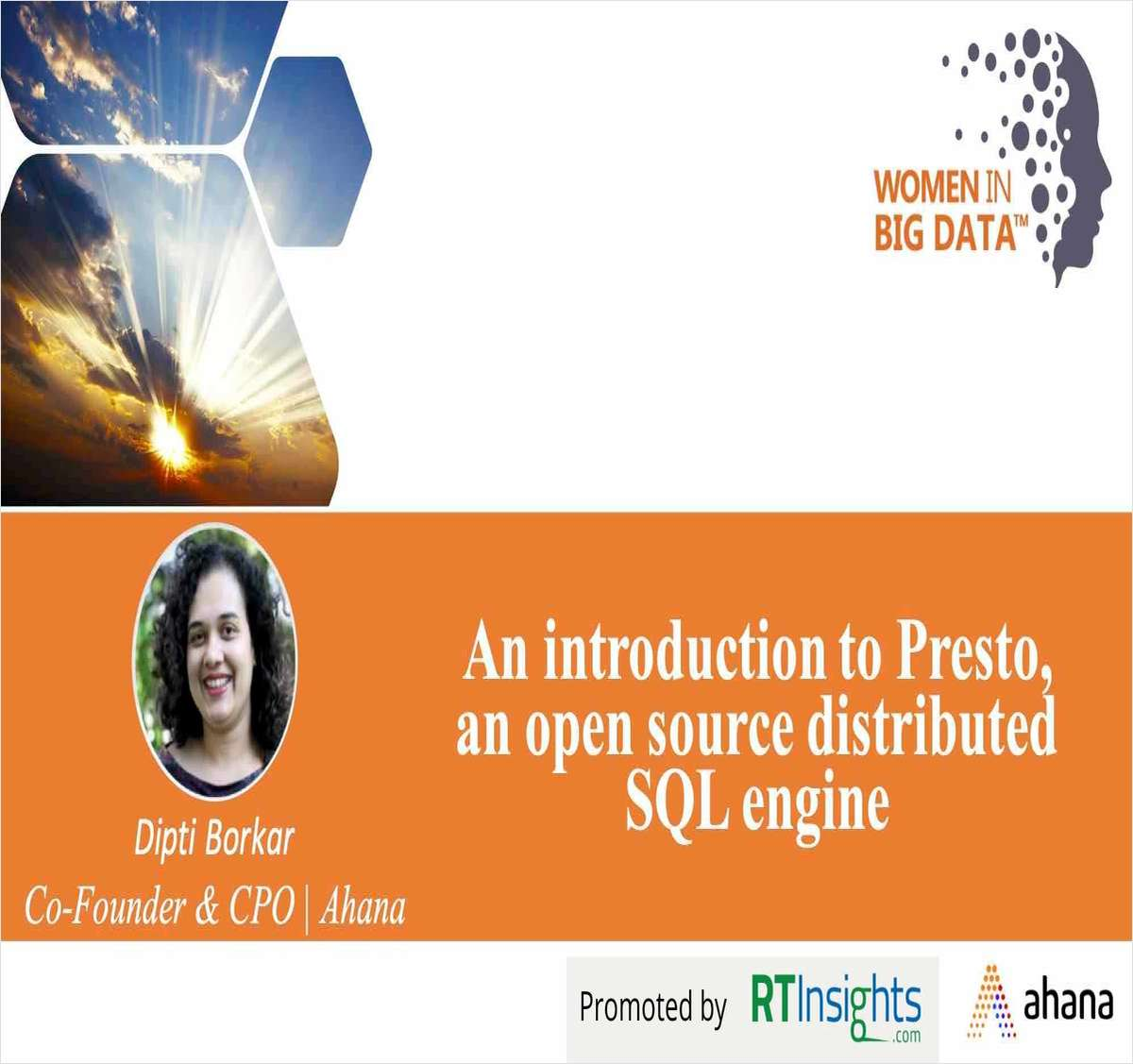 An Introduction to Presto, an Open Source Distributed SQL Engine