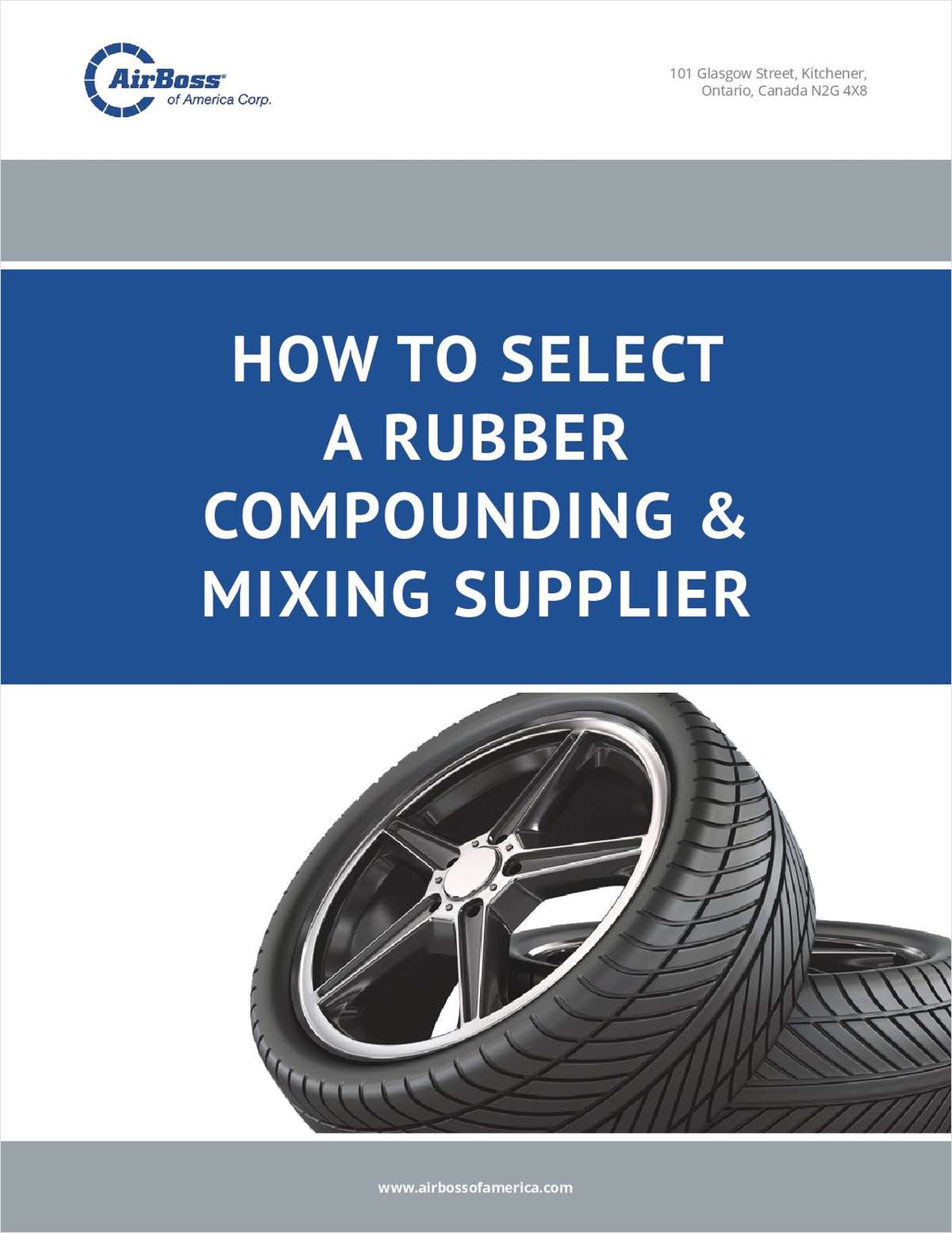 How to Select a Rubber Compounding & Mixing Supplier