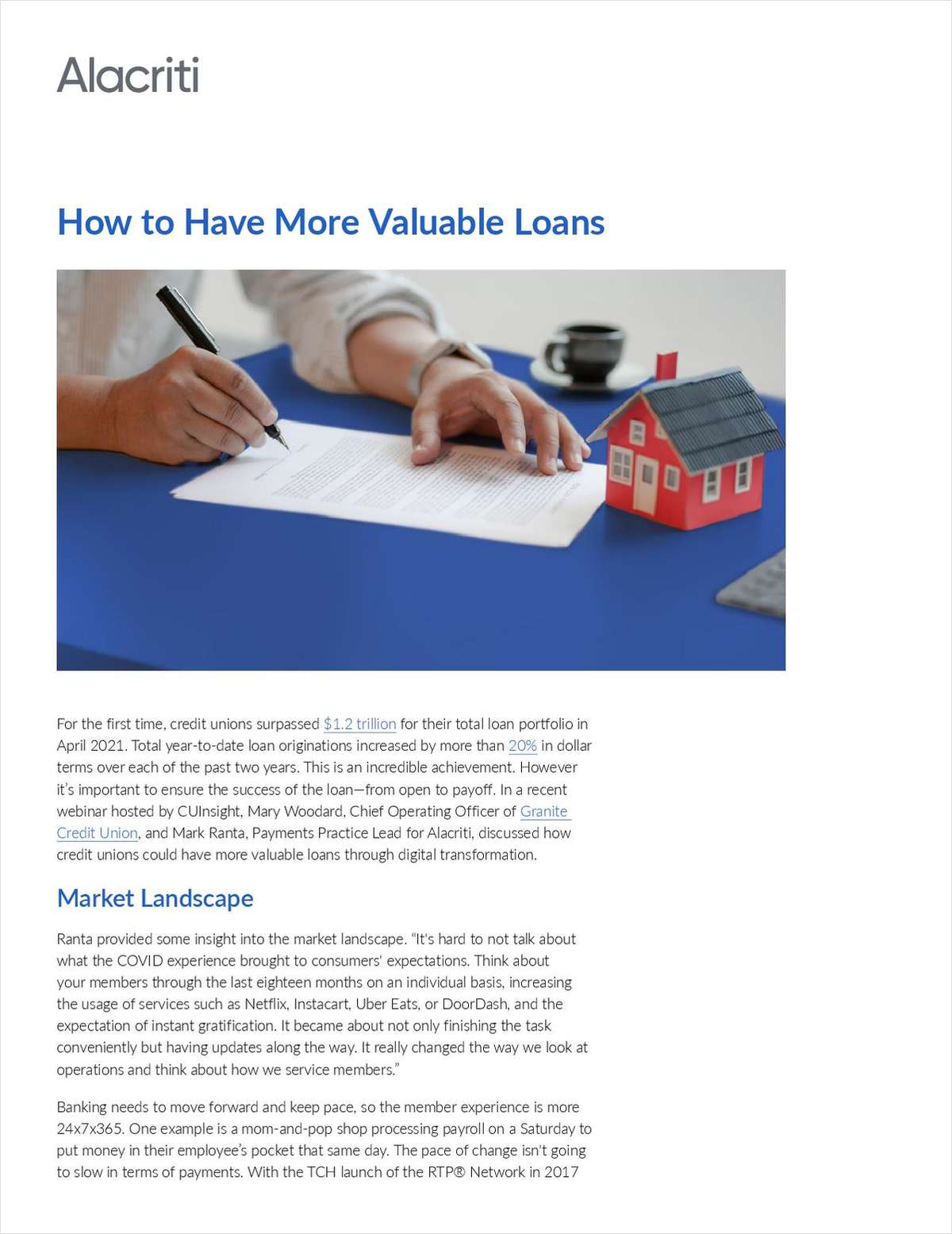How to Achieve More Valuable Credit Union Loans