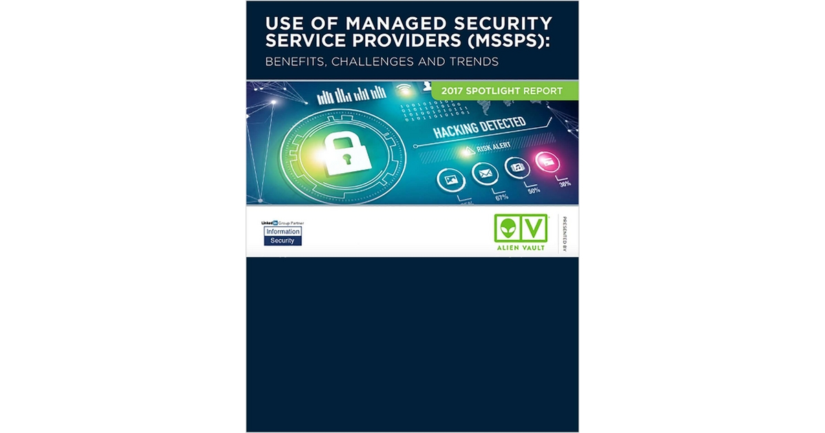 2017 Spotlight Report - Use of Managed Security Service Providers