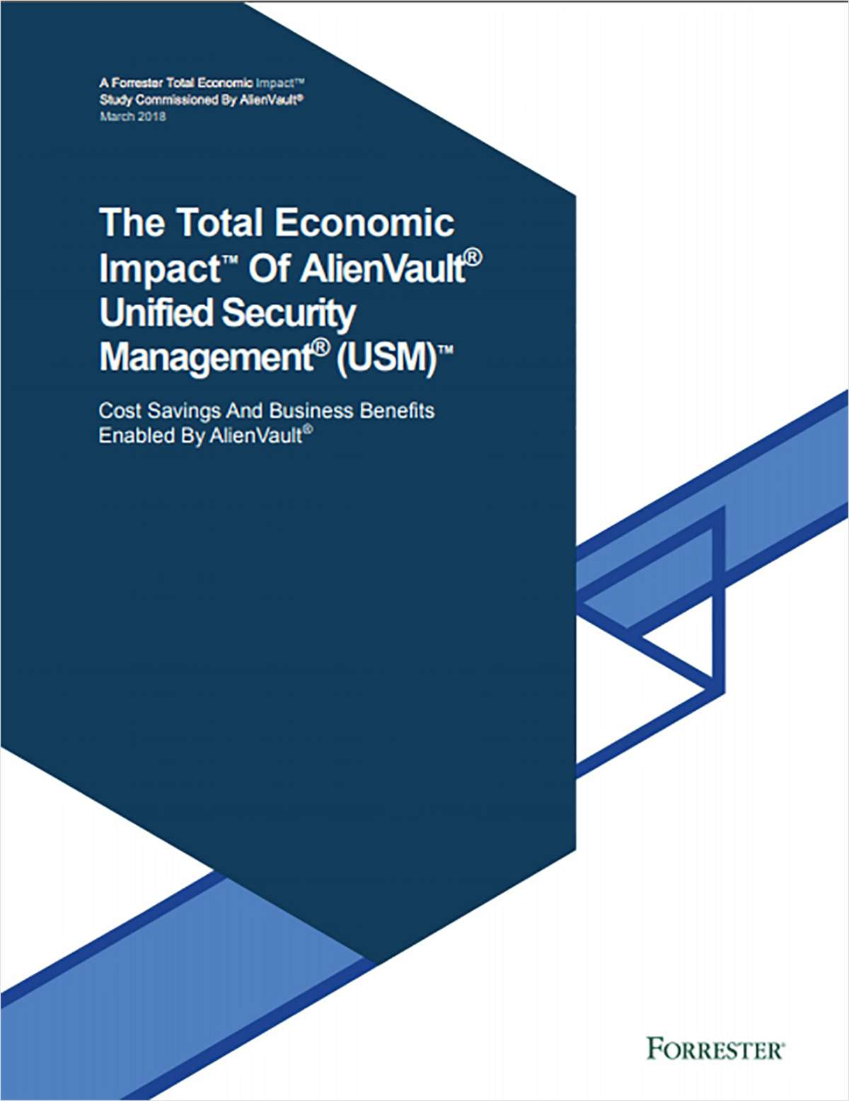 Forrester Study: The Total Economic Impact™ of USM Anywhere