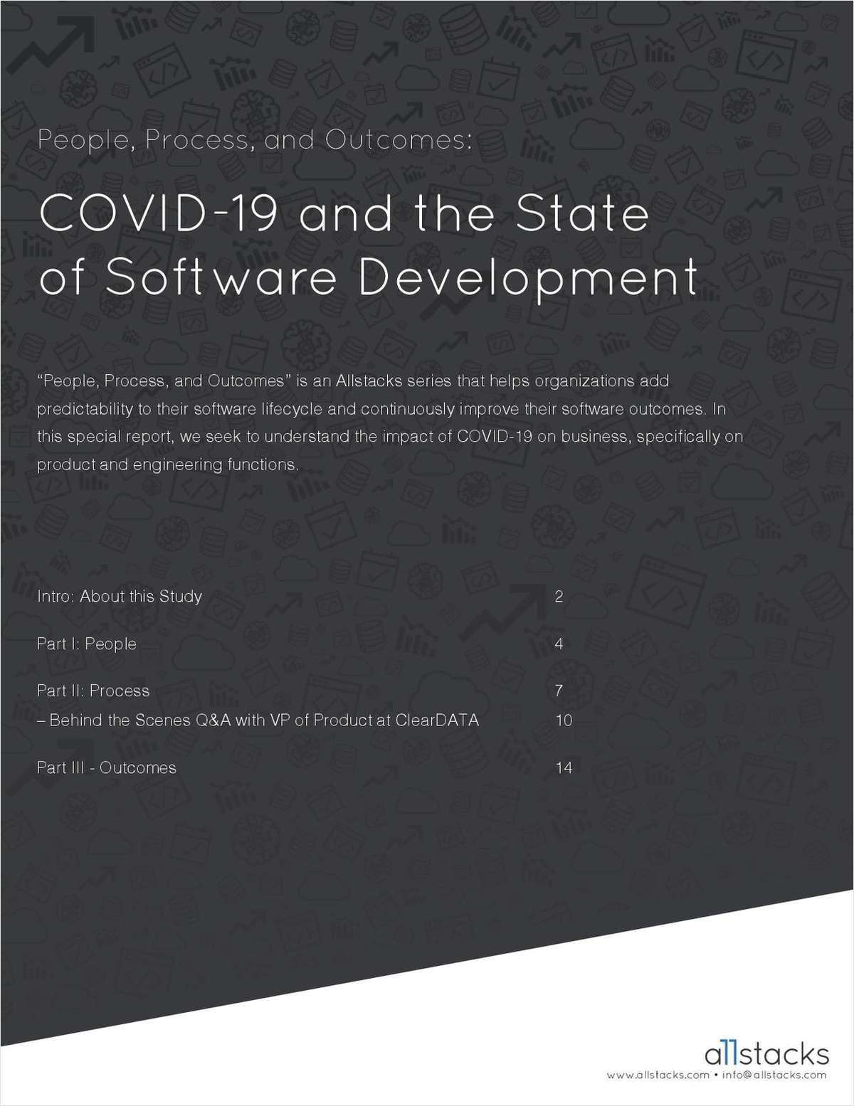 COVID-19 and State of Software Development Report