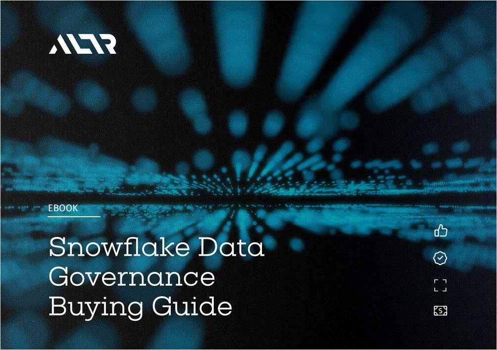 Snowflake Data Governance Buying Guide