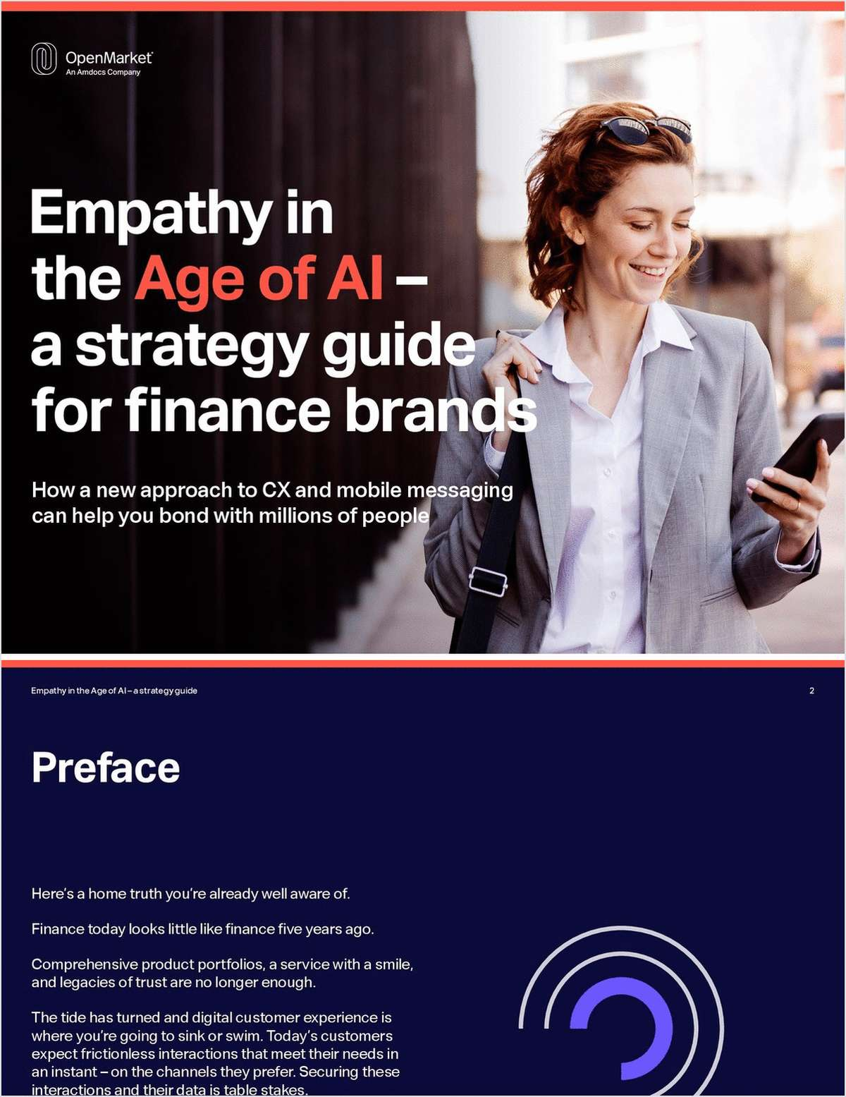 Mobile Messaging and CX for Finance Brands -- A Strategy Guide