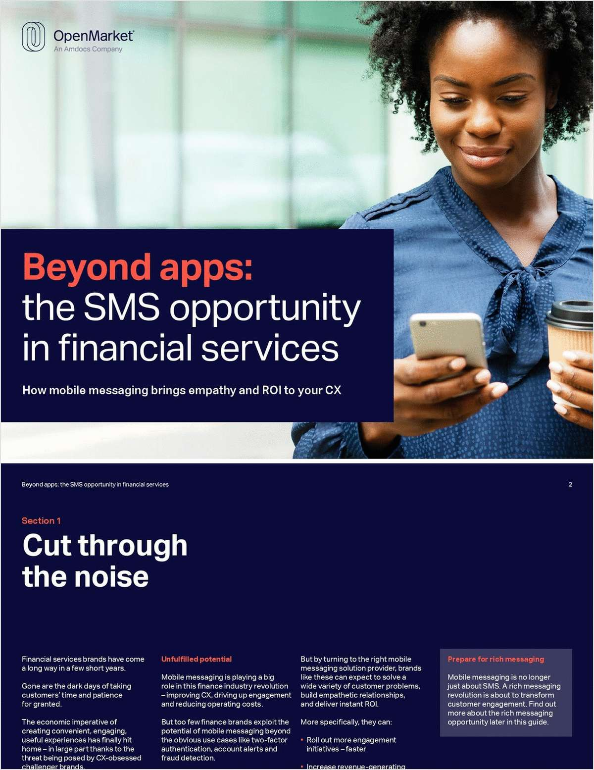 Beyond Apps: The SMS Opportunity in Financial Services