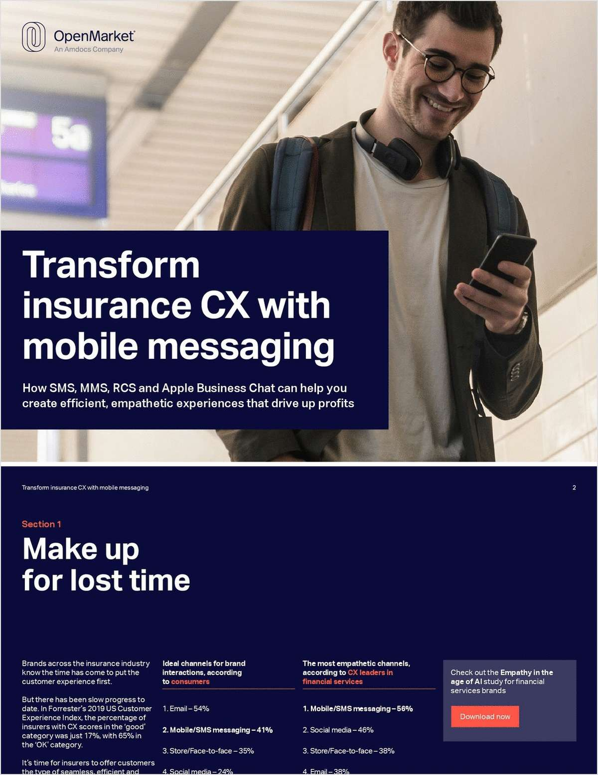 How Mobile Messaging is Transforming Insurance CX