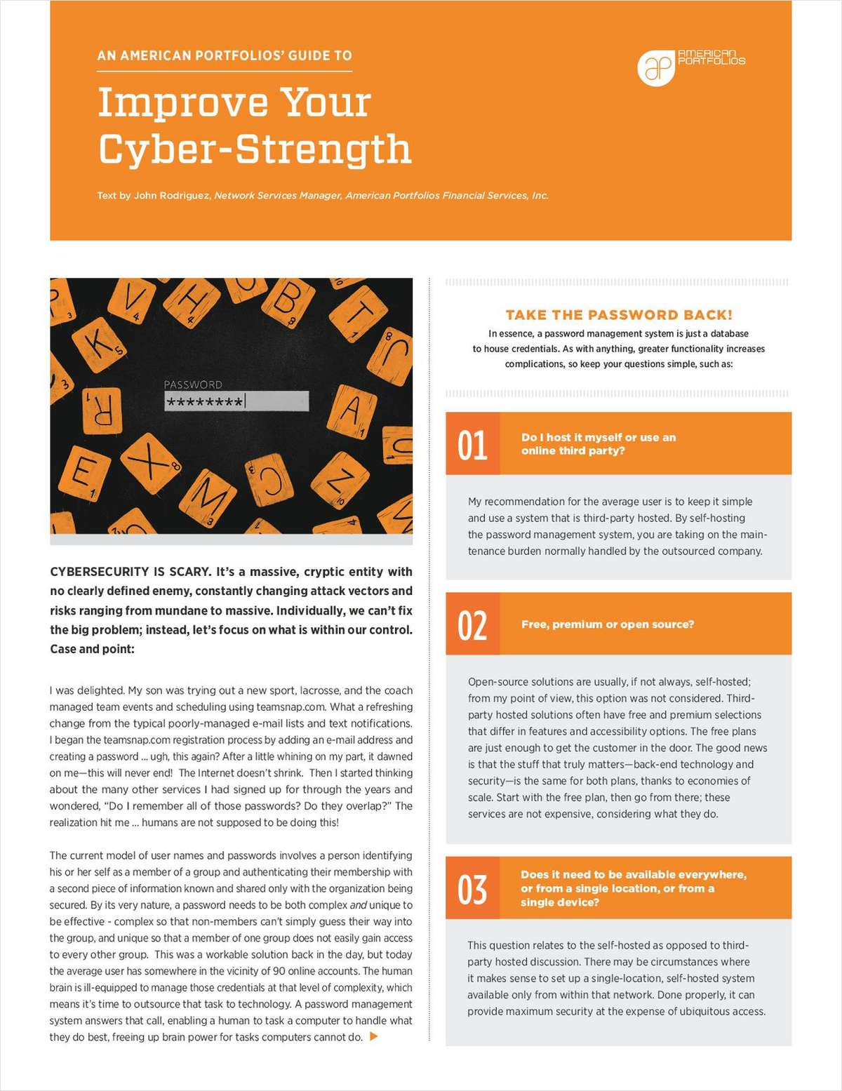 Tips to Improve Your Cyber-Strength