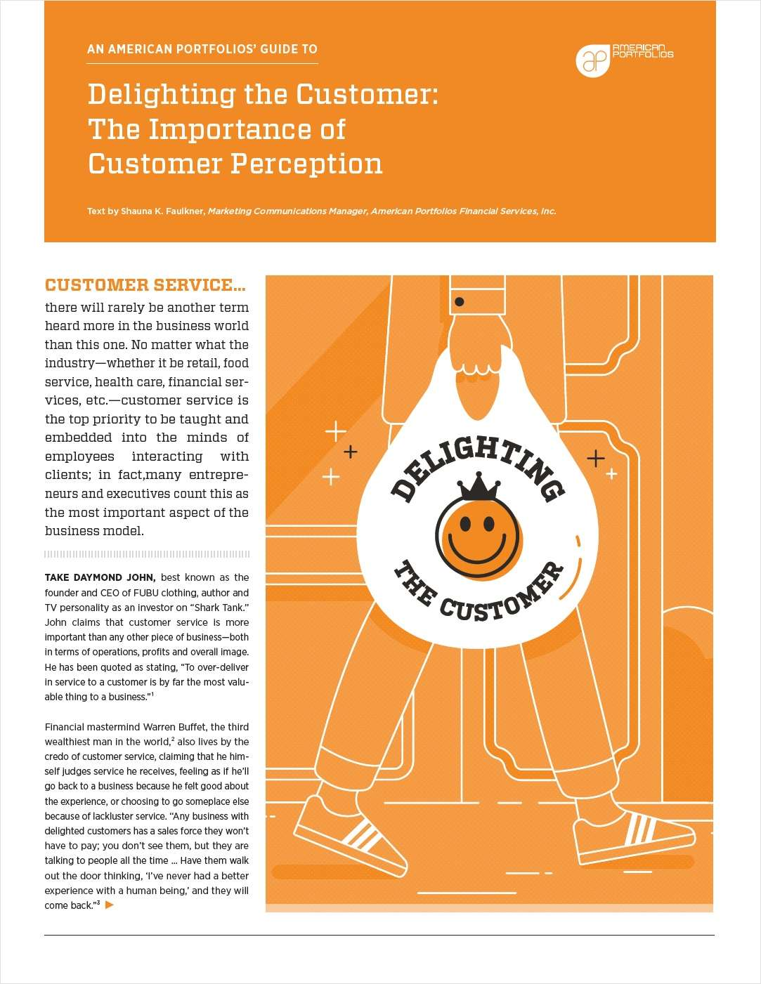 Delighting the Customer: The Importance of Customer Perception