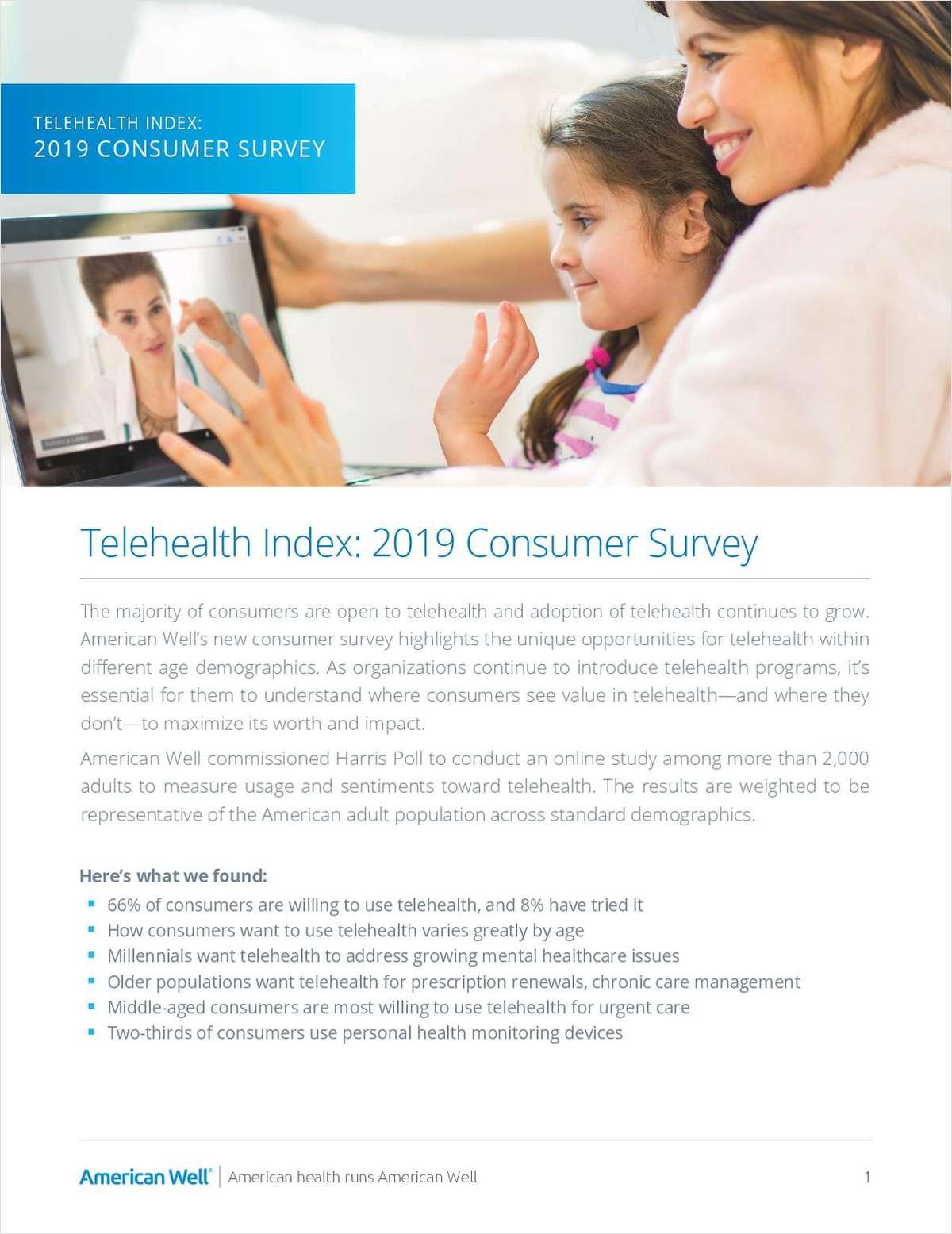 Telehealth Index: 2019 Consumer Survey