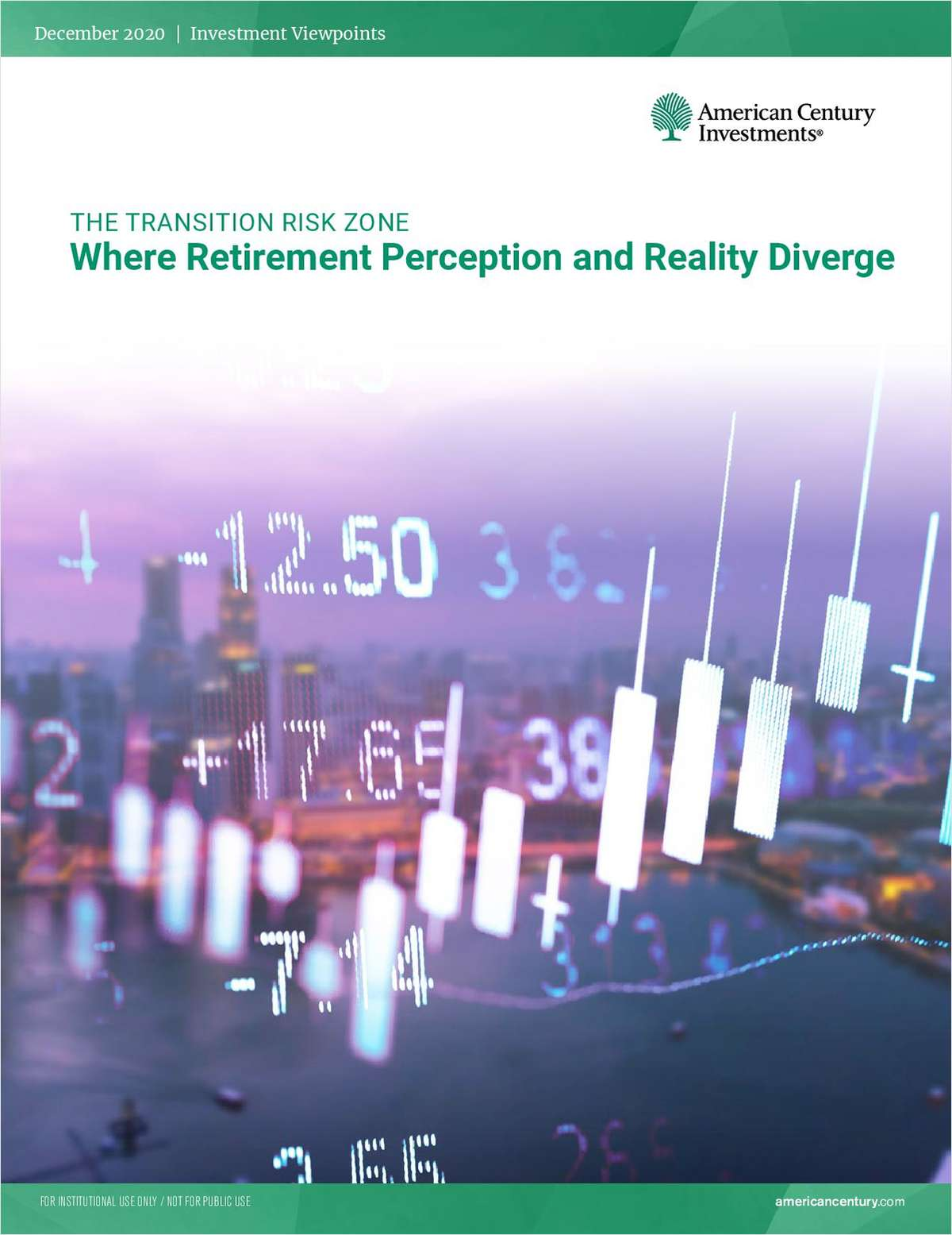 The Transition Risk Zone: Where Retirement Perception and Reality Diverge