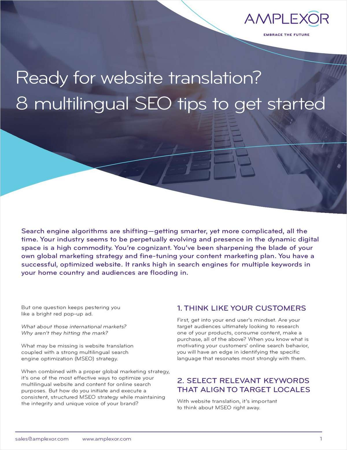 Ready for website translation? 8 multilingual SEO tips to get started