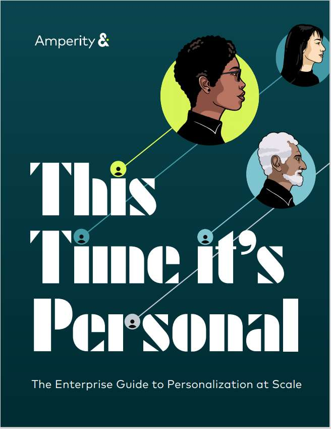 This Time It's Personal: The Enterprise Guide to Personalization at Scale