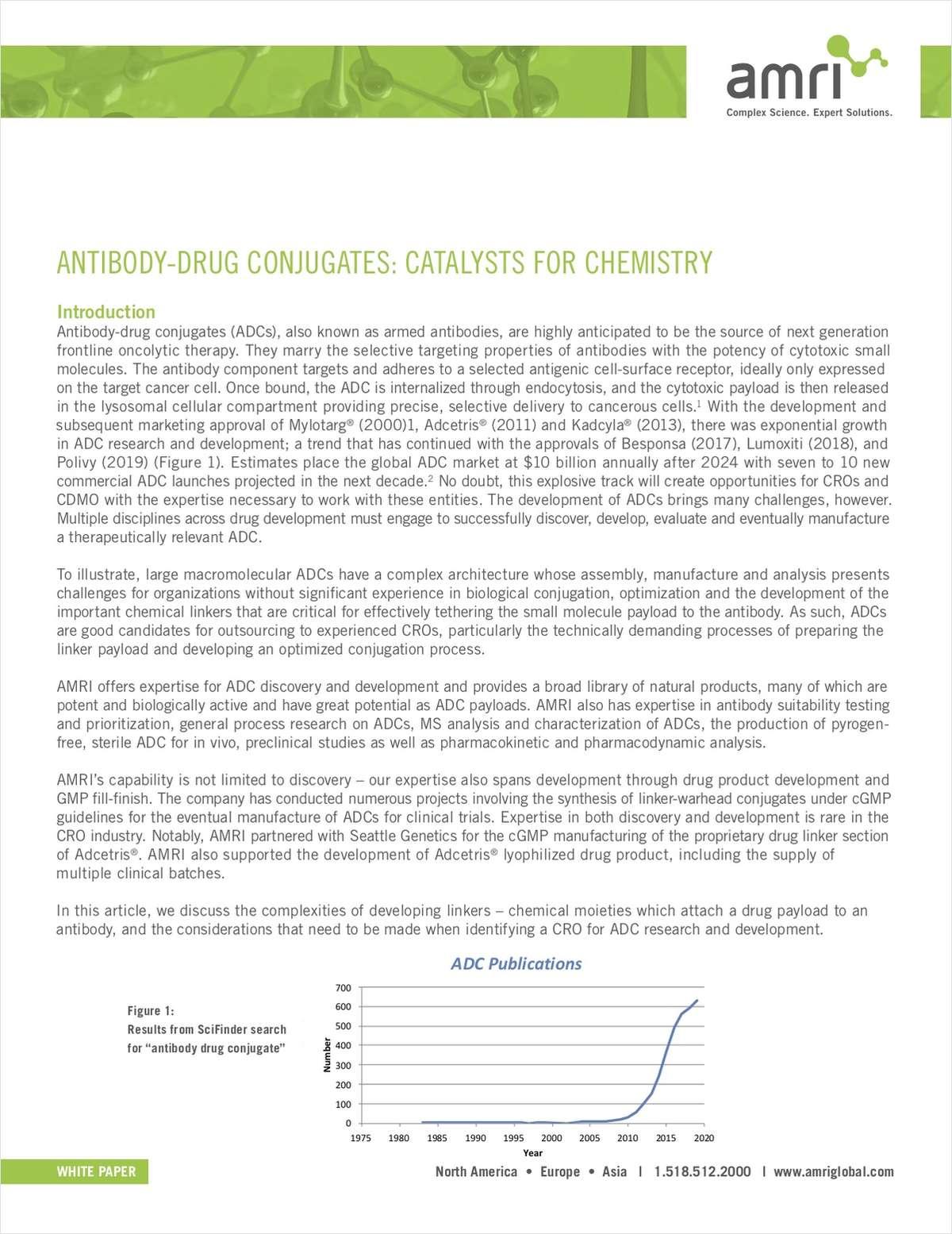 Antibody-Drug Conjugates: Catalysts for Chemistry