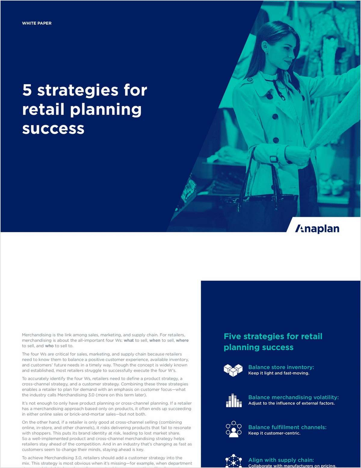 5 Strategies for Retail Planning Success