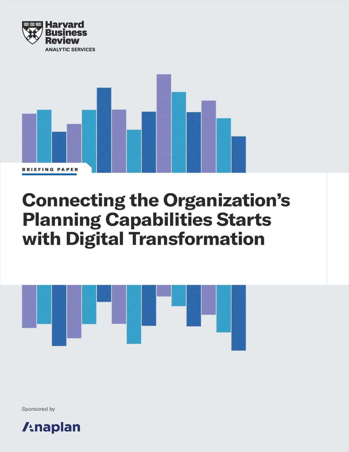 White Paper: Connecting the Organization's Planning Capabilities Starts with Digital Transformation