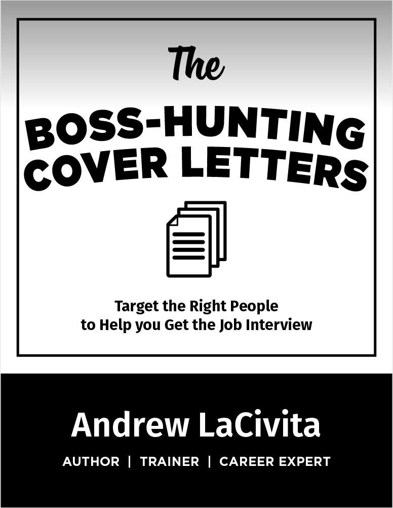 The Boss-Hunting Cover Letters