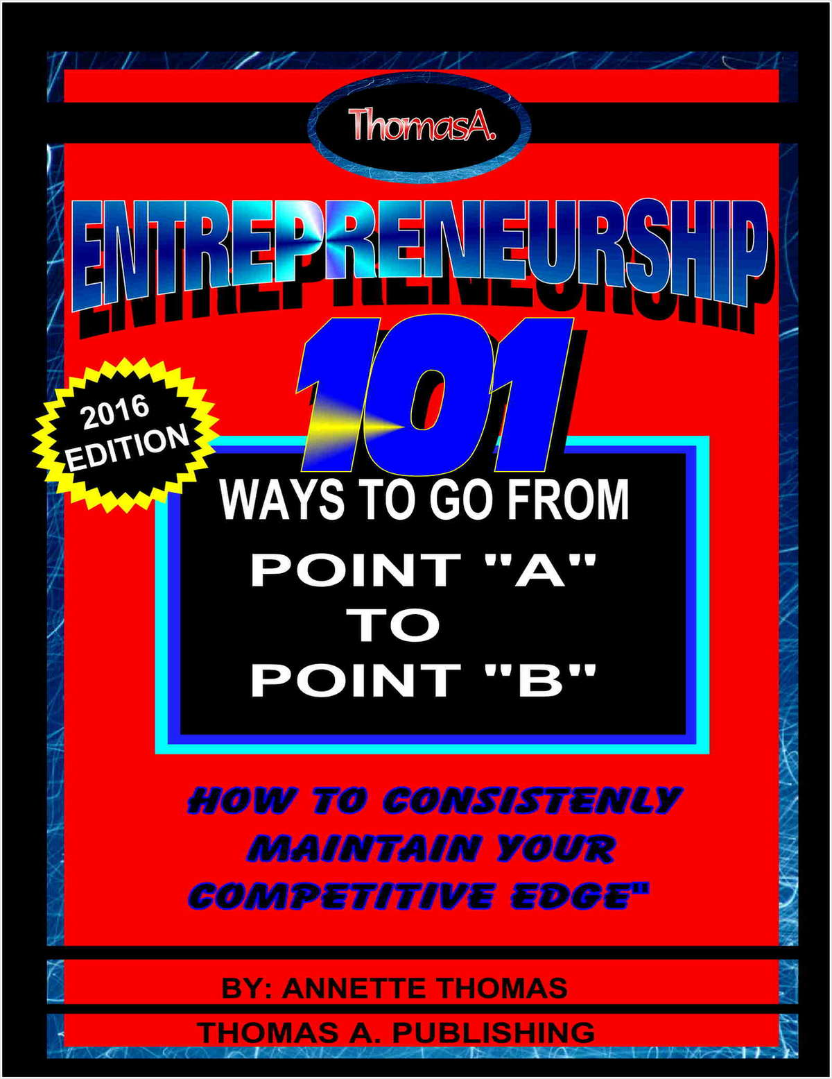 Entrepreneurship: 101 Ways To Go From Point A To Point B